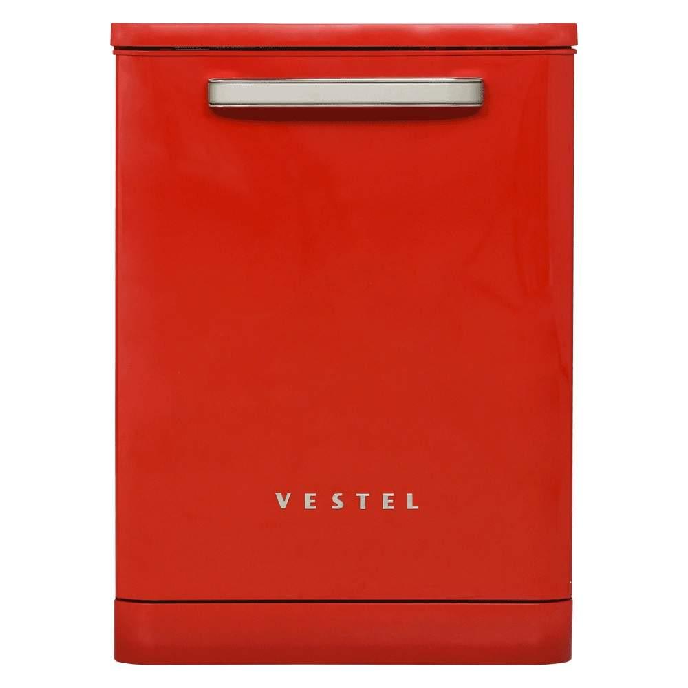 Vestel BM 500 Retro Kırmızı Bulaşık Makinesi