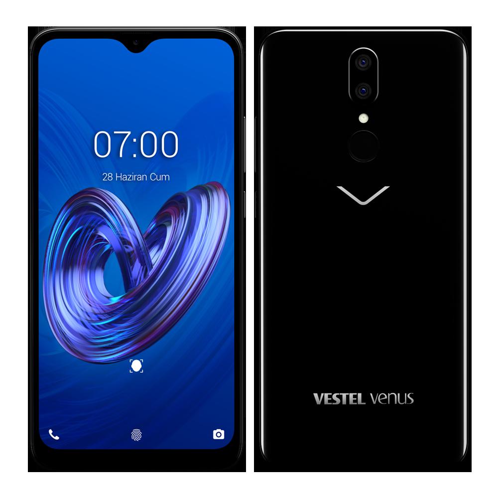 Vestel Venus V7 İnci Siyahı Cep Telefonu