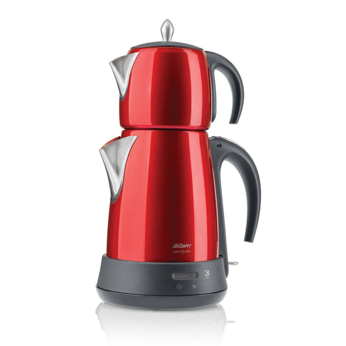 Arzum AR3006 Çaycı Klasik Çay Makinesi - Nar